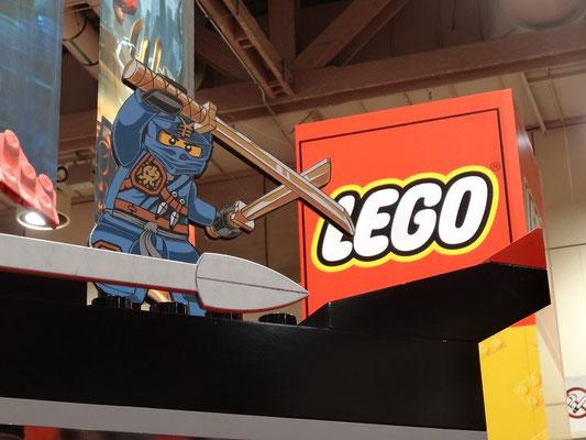 """Lego ist """"badass"""", nicht nur auf der FanExpo 2015 in Toronto."""
