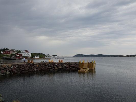 Ein kleiner Aussichtspunkt im Hafen von Twillingate.