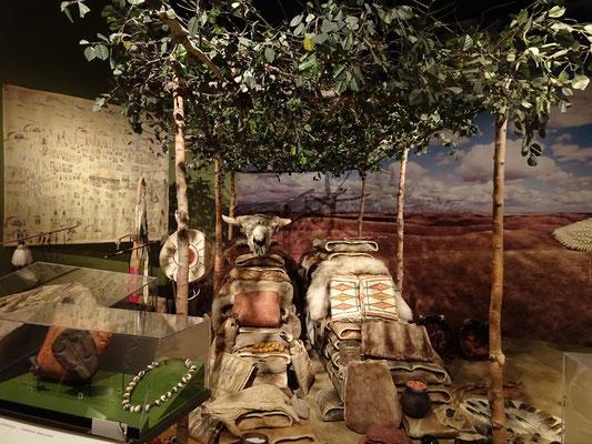 Urlaub in Ottawa: In diesem Ausstellungsraum geht es darum, wie Prärieindianer früher Handel trieben.
