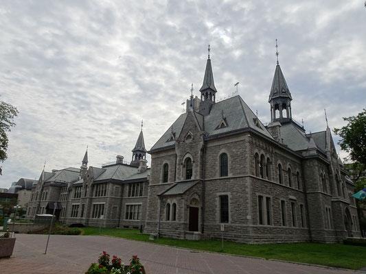 Urlaub in Ottawa: Historisches Gebäude am Rathaus.