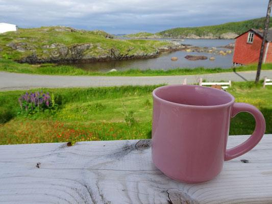 Urlaub in Neufundland: Morgenstimmung auf Change Island.