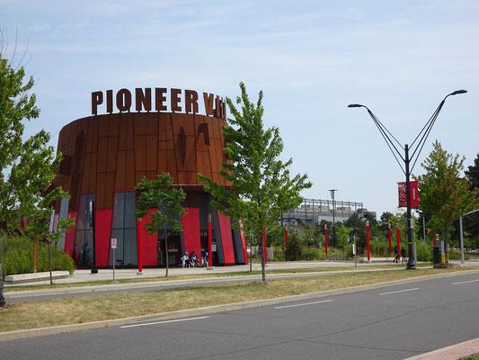 U-Bahn Station Pionier Village im Norden Torontos.