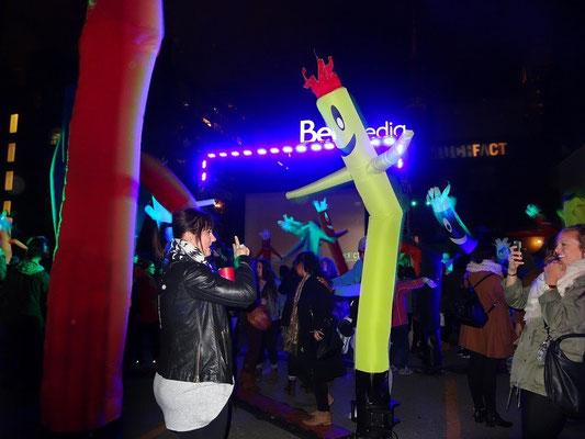 Abtanzen auf der Nuit Blanche 2015 in Toronto.