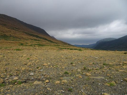 Wandern im Gros Morne National Park: Auf den Tablelands kommt man sich stellenweise vor wie auf einem anderen Planeten.