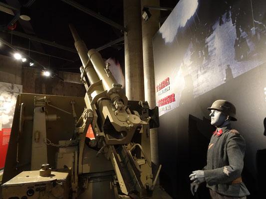 Kriegsmuseum in Ottawa: Flakgeschütz aus dem II. Weltkrieg.