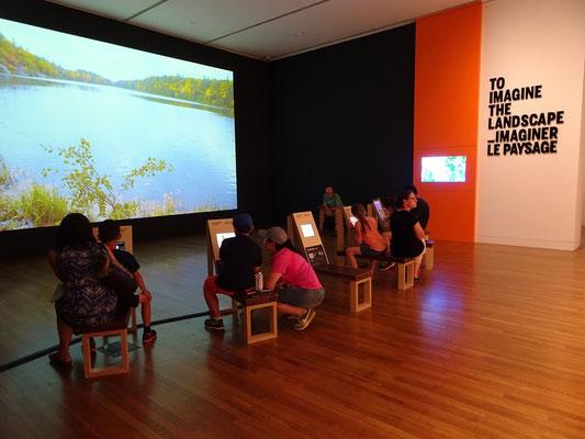 Urlaub in Ottawa: Malen lernen für kleine Besucher in der Nationalgalerie.
