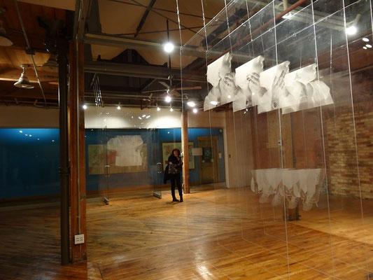 Ausstellung bei der Nuit Blanche 2015 in Toronto.