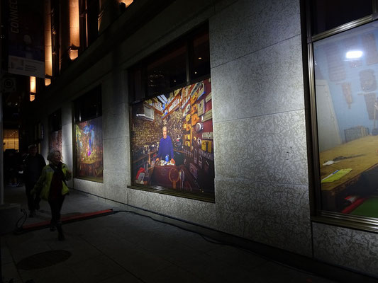 """Nuit Blanche 2016 in Toronto: Exponat """"The Guardians."""""""