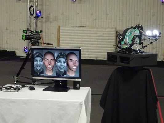 Doors Open Toronto 2018: Technologie für die Erfassung von Gesichtszügen bei Ubisoft Toronto.