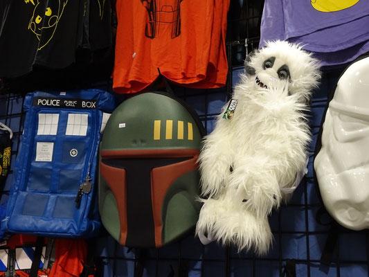 FanExpo 2016 in Toronto: Von Doctor Who bis Star Wars - die Auswahl an Requisiten ist nahezu unbegrenzt.