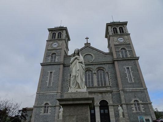 Urlaub in Neufundland: Vor den Toren der St. John's Basilica.
