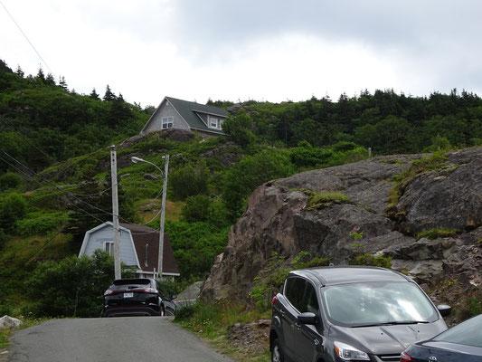 Urlaub in Neufundland: Viel Platz gibt's nicht in Quidi Vidi.