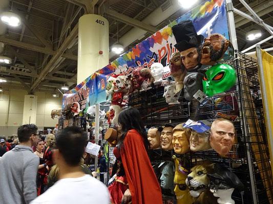 Toronto Comicon 2017: Manche Verkleidung erfordert auch eine Maske.