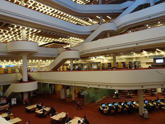 Die Toronto Reference Library ist einen Besuch wert.