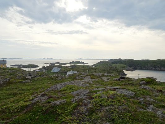 Urlaub in Neufundland: Szene aus Change Island.