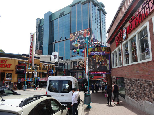 Foto aus Clifton Hill in Niagara Falls.