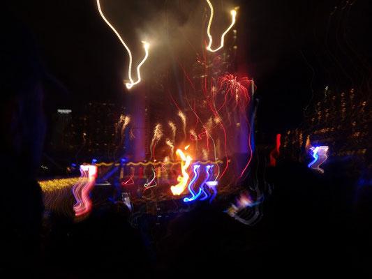 """Cavalcade of Lights in Toronto: Dieses Bild nenne ich nicht """"unscharf"""", sondern """"Kunst."""" ;-)"""