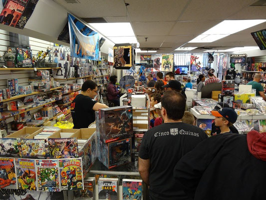 : Grosser Andrang beim Free Comic Book Day in Toronto.