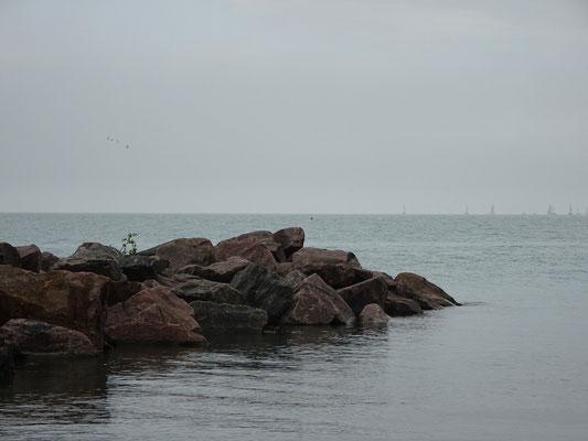 Felsen am Ontariosee.