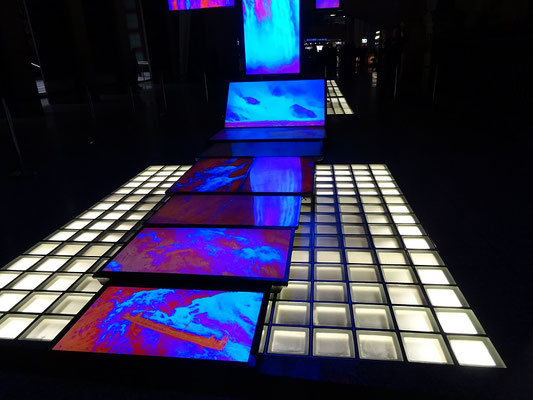 Nuit Blanche 2016 in Toronto: Exponat im Brookfield Place.