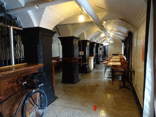 Urlaub in Ottawa: Der Frühstücksraum des Gefängnis Hostels ist im Untergeschoss.