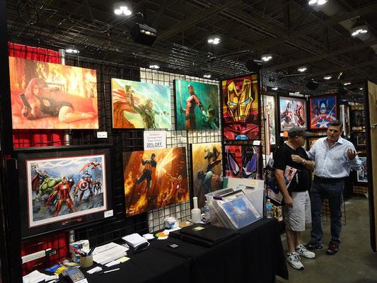FanExpo 2016 in Toronto: Zu kaufen gibt es neben Comics und Requisiten auch echte Kunst.