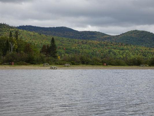 Urlaub in New Brunswick: Blick nach Osten über den Big Nictau See im Mount Carleton Provincial Park.