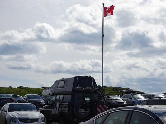 Urlaub in Neufundland: Einige Besucher von  St. John's sind weit gereist.