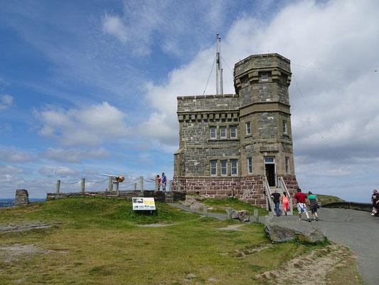Urlaub in Neufundland: Auf dem Signal Hill in  St. John's.