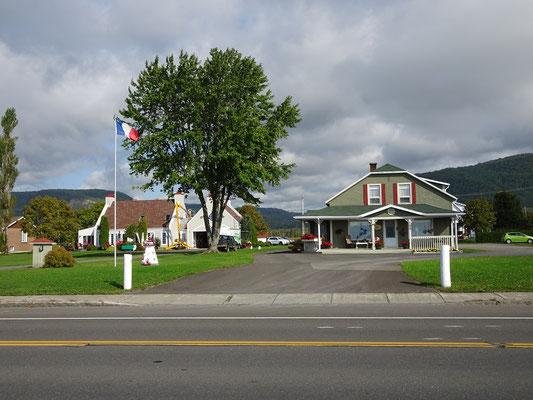 Urlaub in Quebec: Impressionen auf dem Weg nach Carleton-sur-Mer.