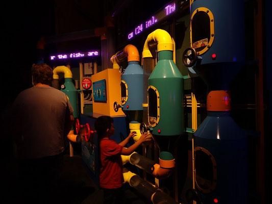 Auch für die Kleinen gibt es im Ripley's Aquarium was zu tun.