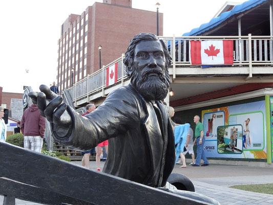 Überall in Charlottetown wird an die 1864er Konferenz zur kanadischen Föderation erinnert.
