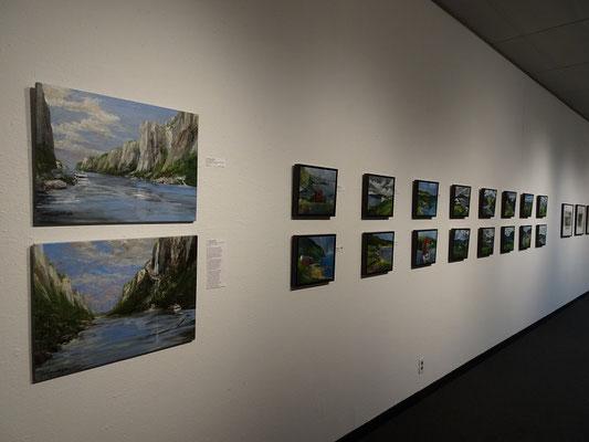 Ausstellung mit Bildern aus Neufundland: Da werden Erinnerungen an den Sommerurlaub wach.