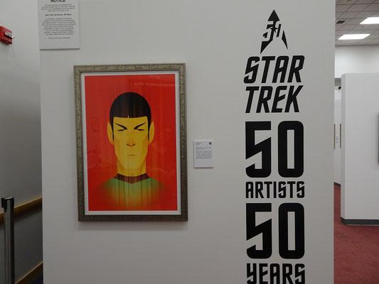 Eingang zur Star Trek-Ausstellung auf der Canadian National Exhibition in Toronto.