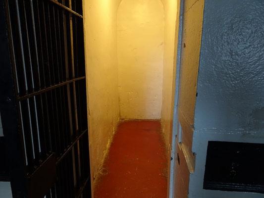 Urlaub in Ottawa: Übersichtliche Platzverhältnisse in den Zellen.