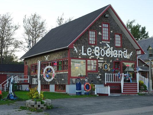 Urlaub in Quebec: Souvenirgeschäft im Ortskern von Percé.