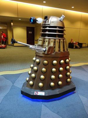 Doctor Who Fans gibt es in Kanada überall, und auf der FanExpo 2015 in Toronto geben sie sich zu erkennen.
