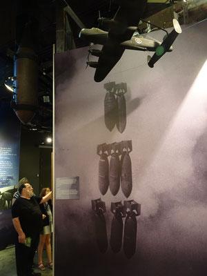 Kriegsmuseum in Ottawa: Kanada bildete im II. Weltkrieg mehr als 130.000 alliierte Piloten und Flugzeugbesatzungen aus.