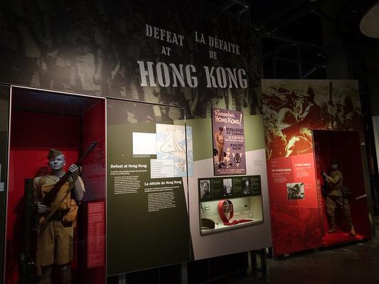 Kriegsmuseum in Ottawa: Die japanische Expansion in Asien war auch für das britische Königreich bedrohlich.