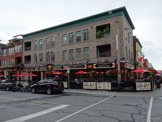 Urlaub in Ottawa: Irische Kneipe auf dem ByWard Market.