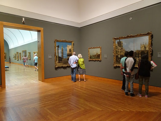 Urlaub in Ottawa: Gemälde in der Nationalgalerie.