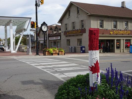 Besuch in Mississauga: Szene aus Streetsville.