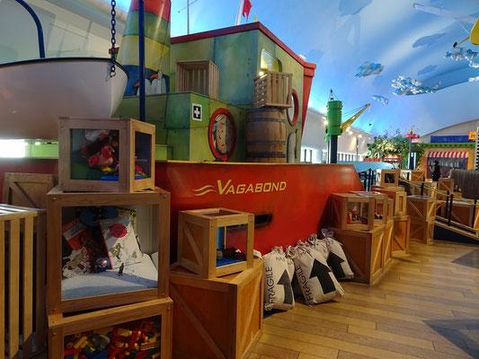 Urlaub in Ottawa: Hafenszene im Kindermuseum.
