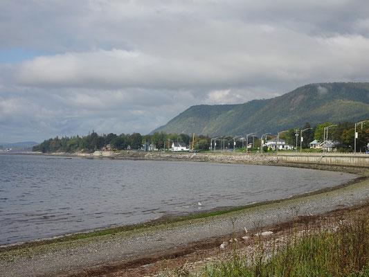 Urlaub in Quebec: Strandbesuch in Carleton-sur-Mer.