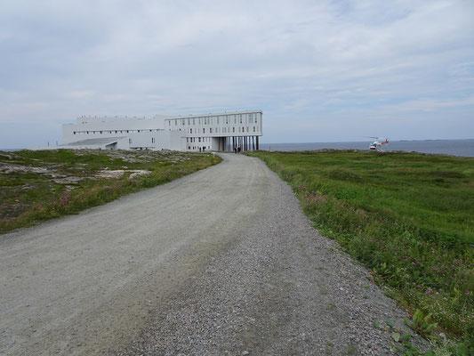 Das Fogo Island Inn liegt ein wenig ausserhalb der Gemeinde Joe Batt's Arm in Neufundland.