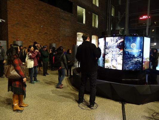Nuit Blanche 2015 in Toronto: Hier können Besucher in nordische Mythologie eintauchen.