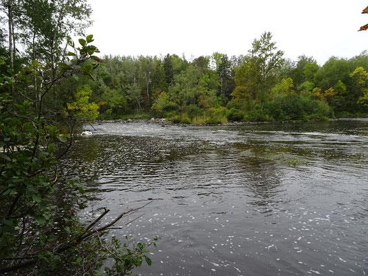 Urlaub in Quebec: Spaziergang am Riviére-du-Loup.