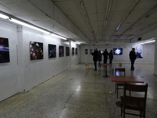 An Honest Farewell in Toronto: Improvisierte Galerie im ehemaligen Kaufhaus.