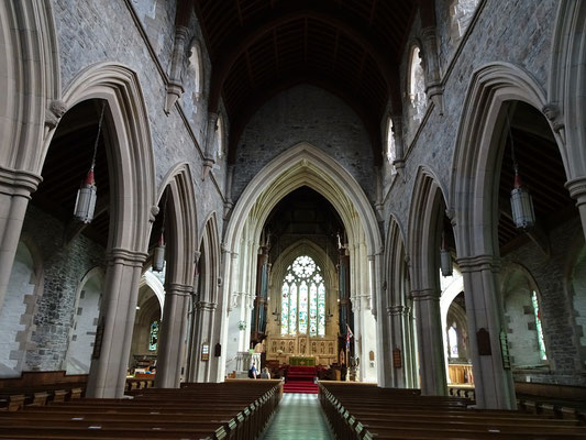 Urlaub in Neufundland: Innenansicht aus der St. John's Cathedral.