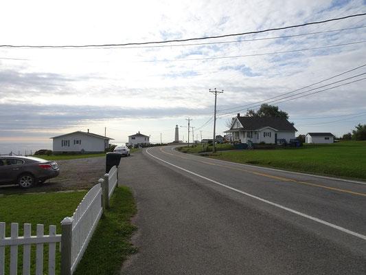 Urlaub in Quebec: Strasse nahe Cap-des-Rosiers auf der Ostseite des Forillon Nationalparks.